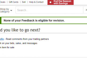 How to Change or Remove Feedback on eBay