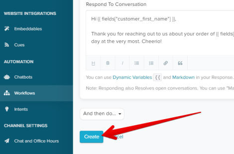 Ecommerce Autoresponder Setup for Re:amaze Users