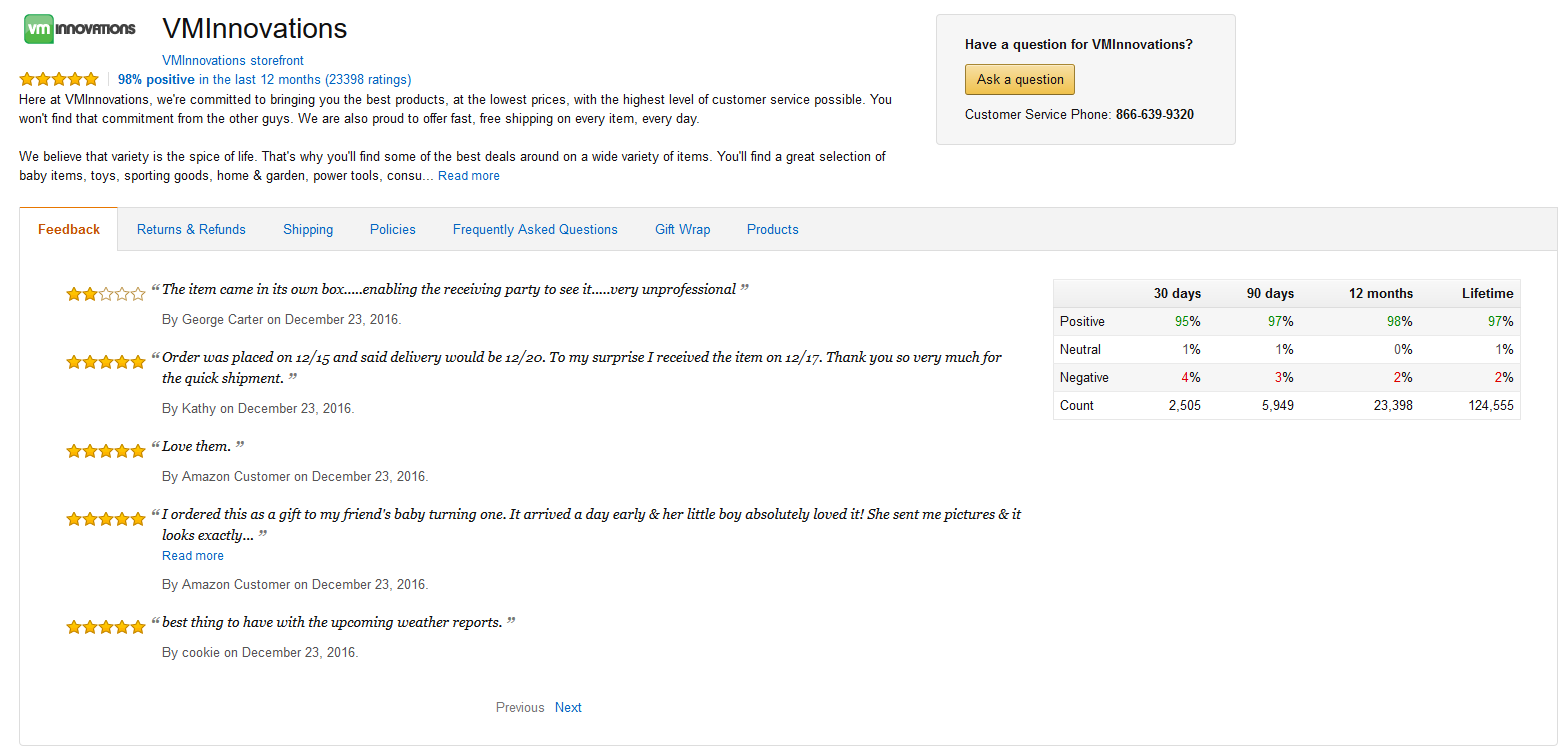 Amazon Feedback Guide For Buyers And Sellers