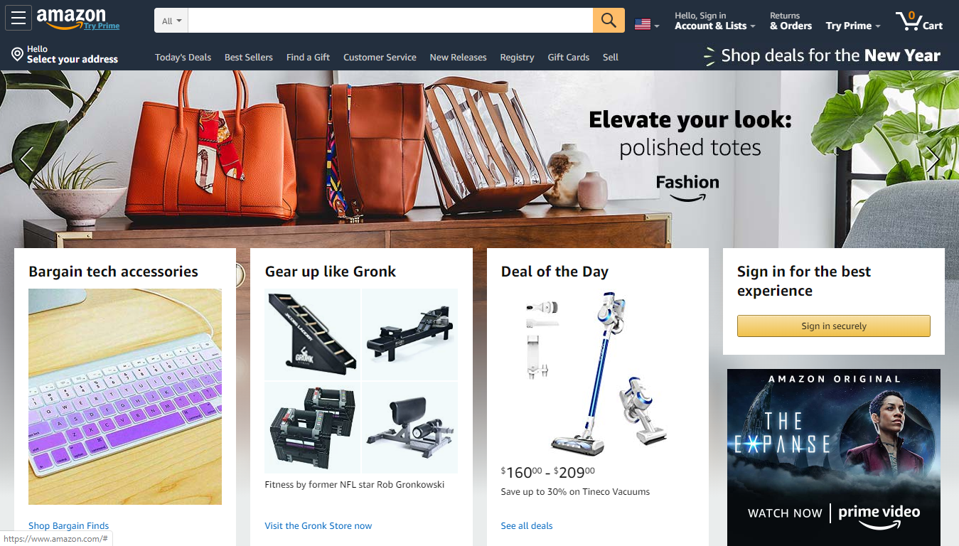 Amazon: #1 on the Best Places to Sell Online