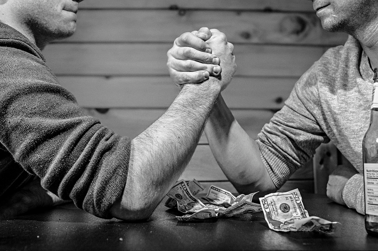 Arm Wrestling Bet