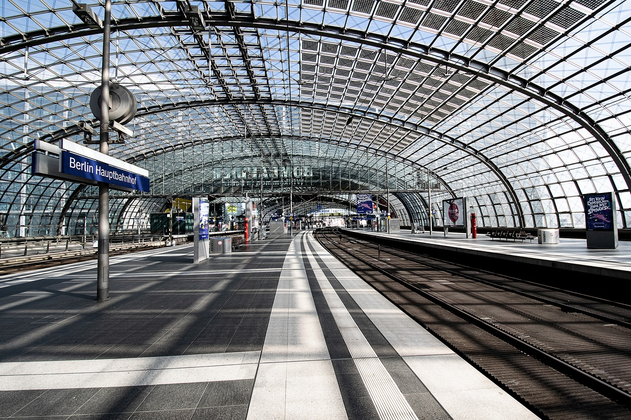 Berlin Central Station Locked Down due to COVID-19