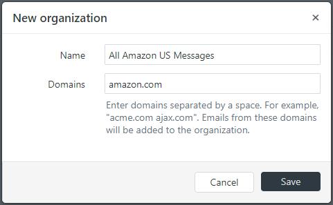 Creating an Amazon Messaging Organization in Zendesk