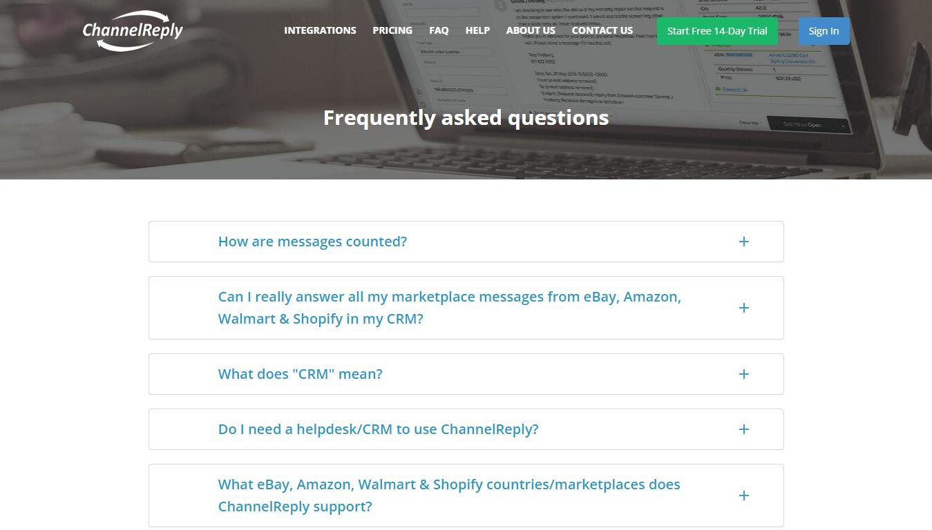 ChannelReply FAQ