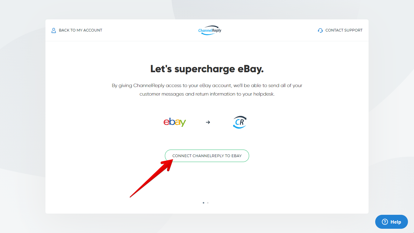 Connect ChannelReply to eBay Button