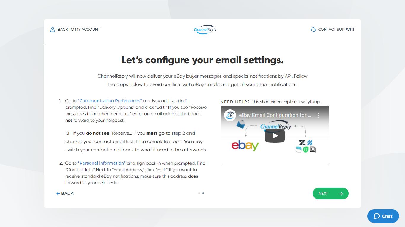 Prevent Double Messaging for eBay