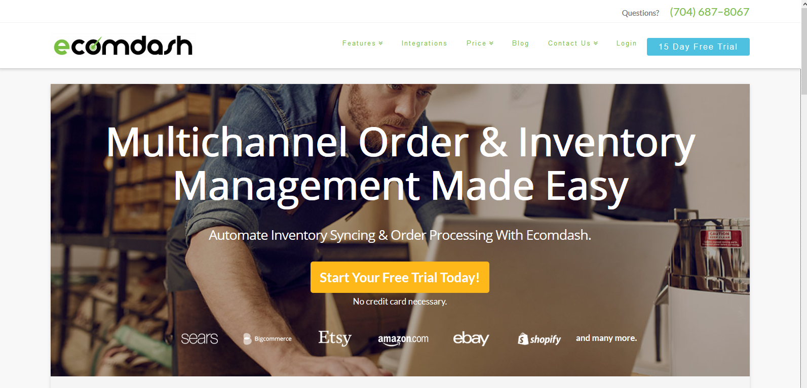 Ecomdash: Multiple eBay Solutions
