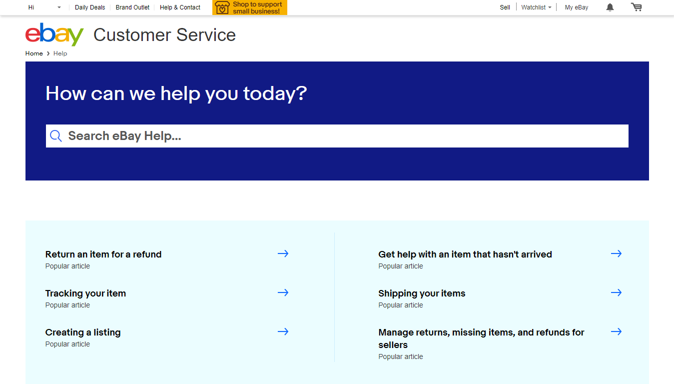 Ebay Customer Service Reach A Human In Minutes