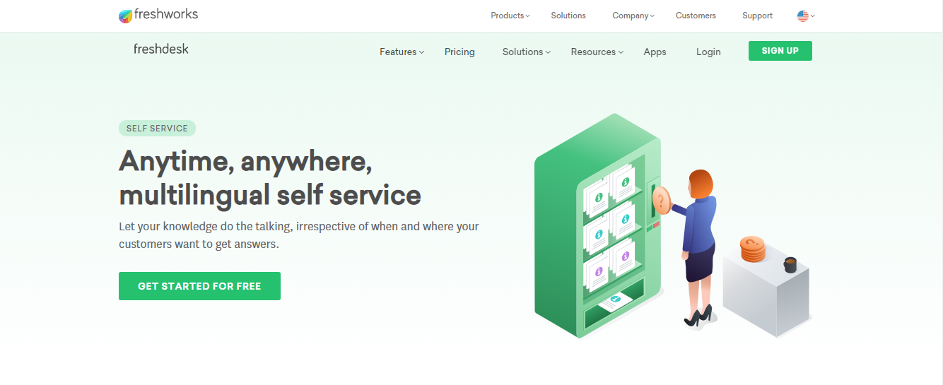 Freshdesk Self-Service