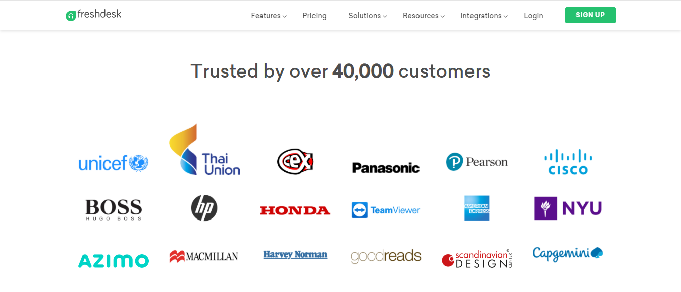 40,000 Companies Use Freshdesk