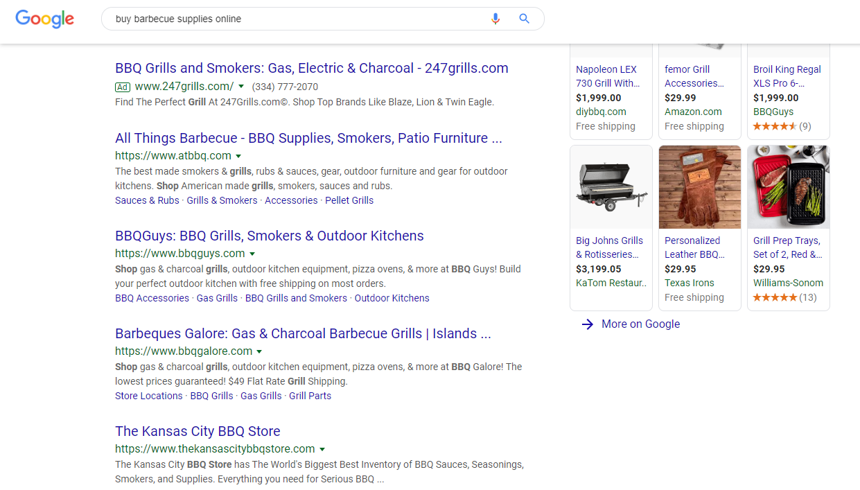 """Google Search Results for """"Buy Barbecue Supplies Online"""""""