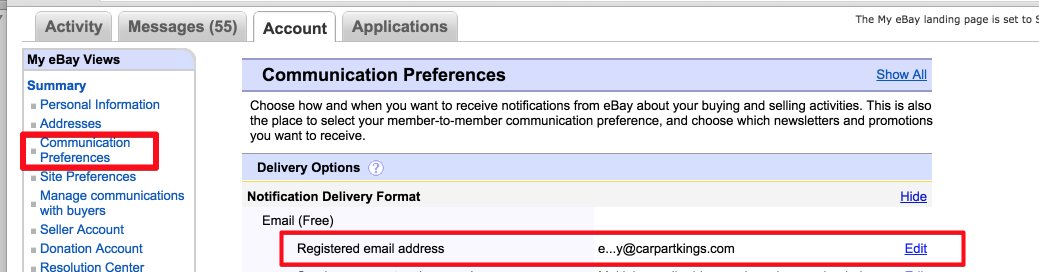 How to Import Notifications from eBay