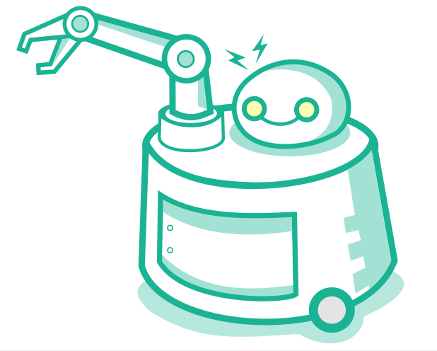A Drawing of an Item-Picking Robot, Likely to Grow Common as One of the Long-Term Effects of the Coronavirus on Ecommerce