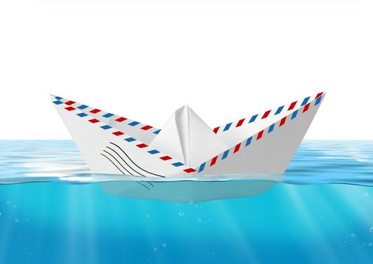 Mail Envelope Boat