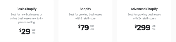 Shopify Packages
