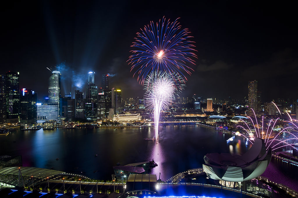 Singapore National Day Fireworks