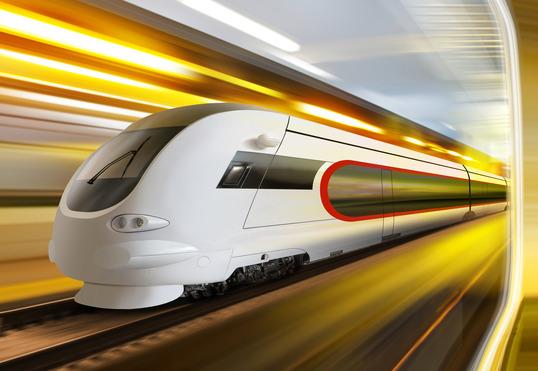 Streamlined Train