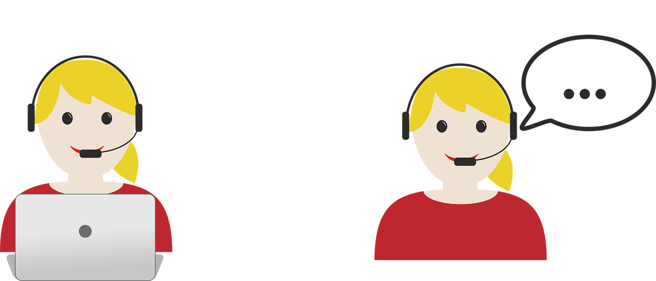 Customer Support Agent Graphic