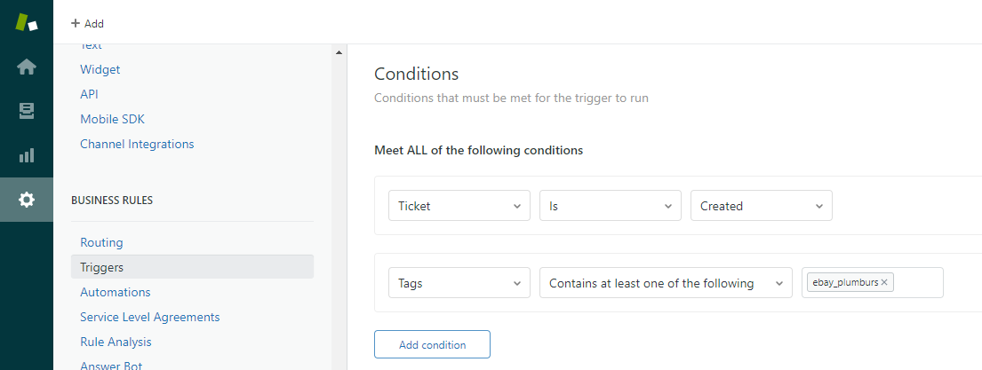Using ChannelReply Tags in Zendesk Trigger Conditions