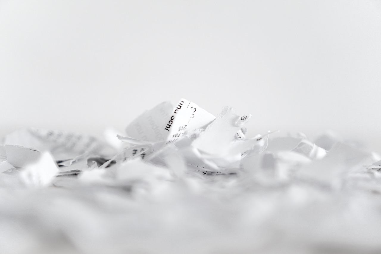 Torn-Up Paper