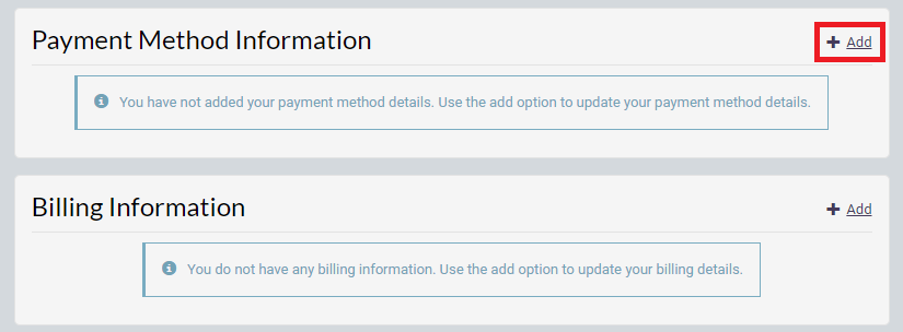 Add a Payment Method for ChannelReply in Chargebee