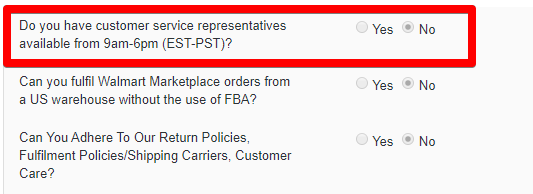 Walmart Asking If You Have Customer Service Representatives Available from 9am-6pm (EST-PST)