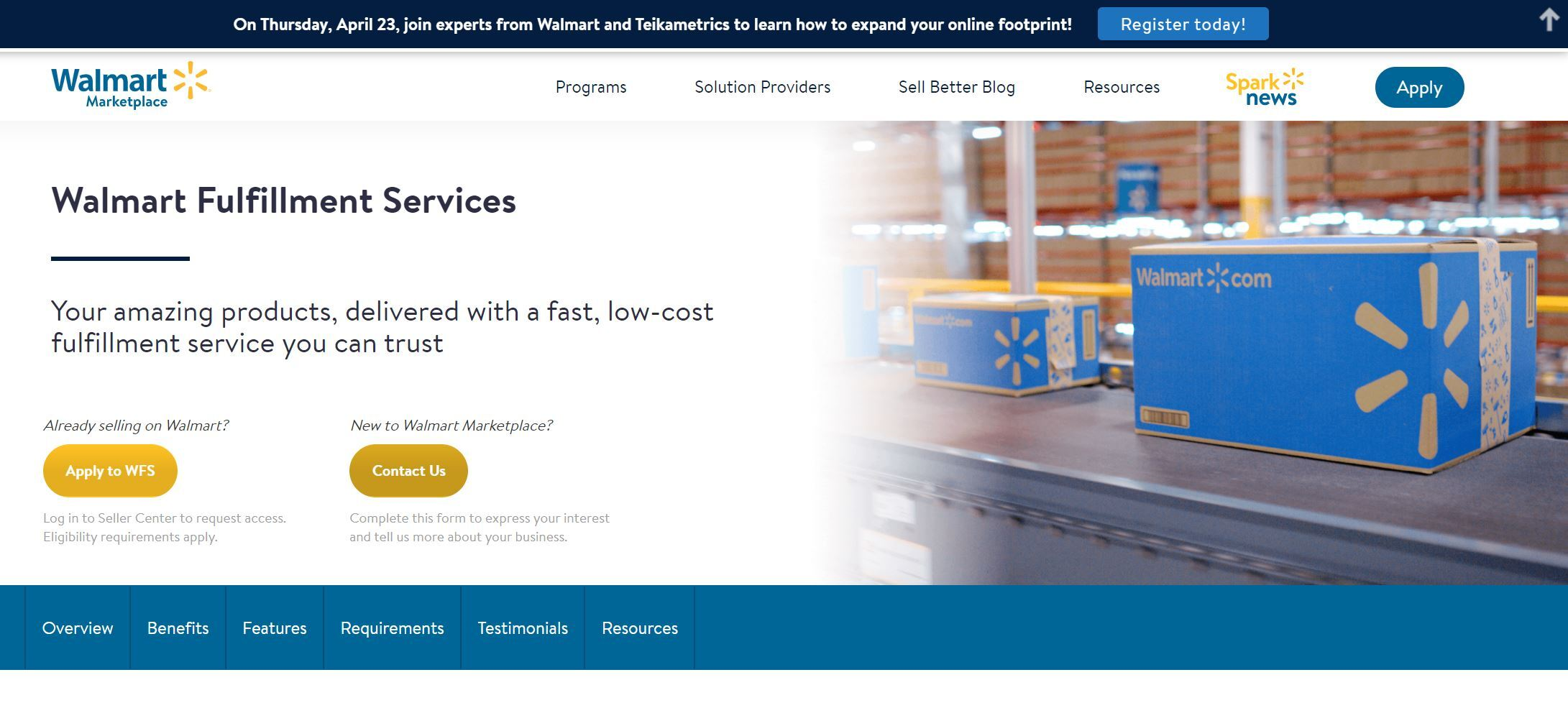 Walmart Fulfillment Services