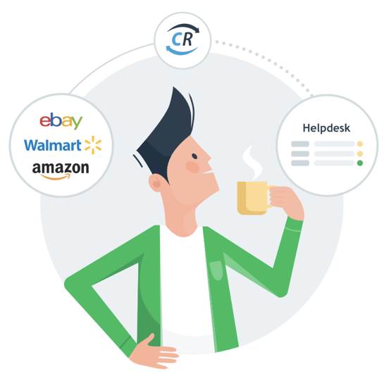 Walmart, eBay and Amazon Support in One Helpdesk Because of ChannelReply
