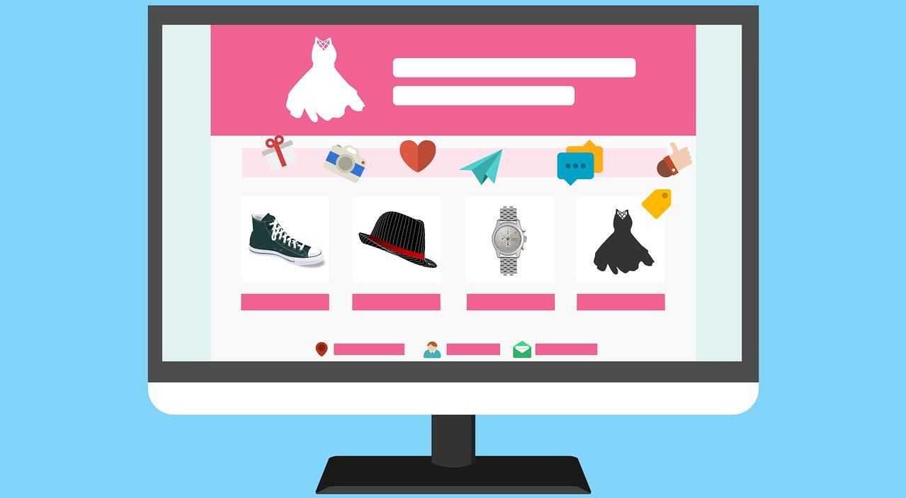 Computer Monitor Illustration