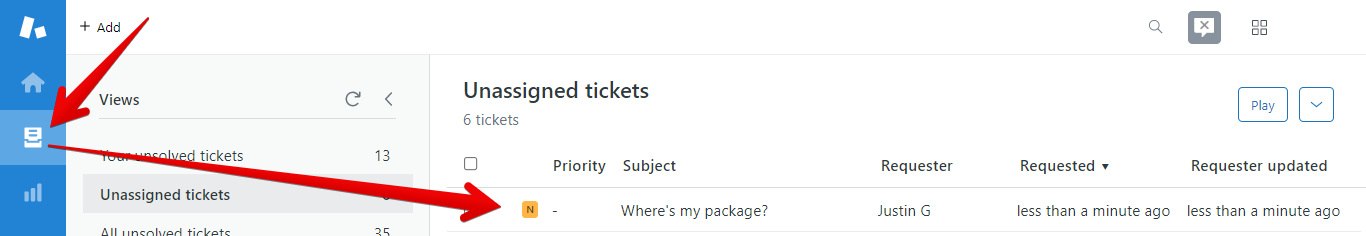 How to Open a Ticket in Zendesk