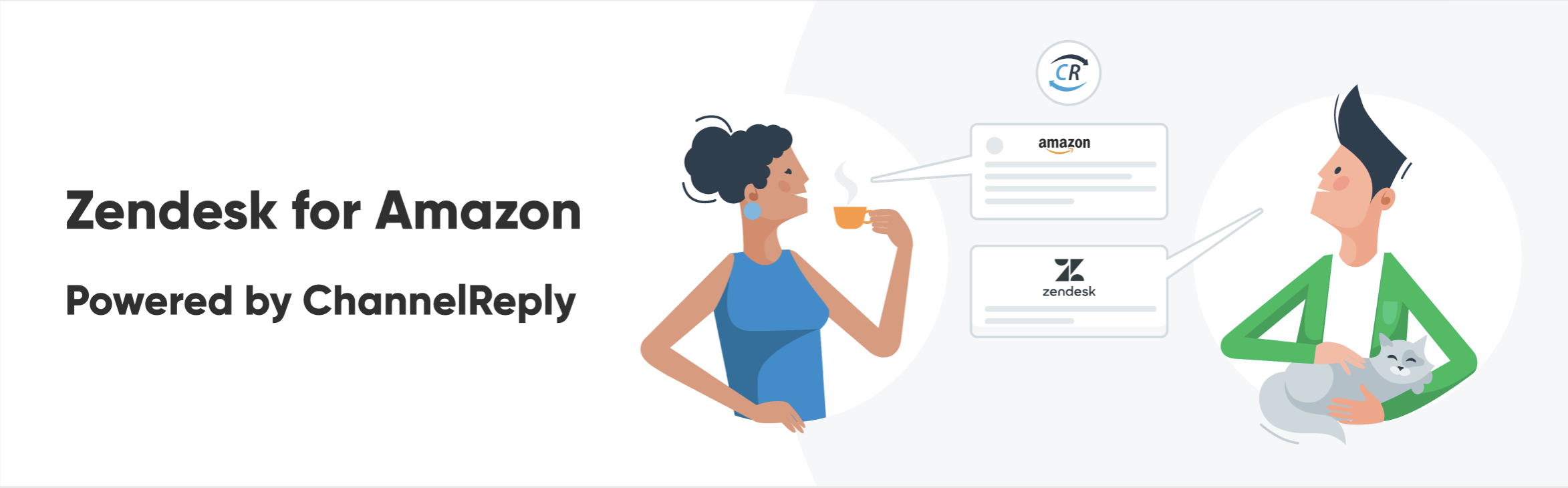 Zendesk for Amazon Powered by ChannelReply Banner