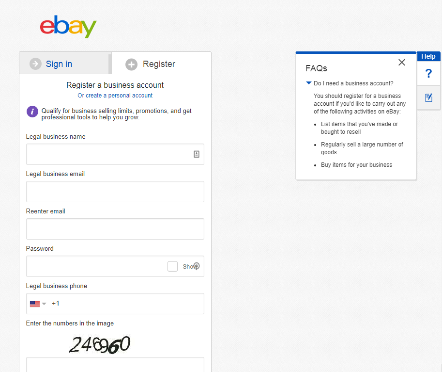 Ebay Business Account Pros And Cons