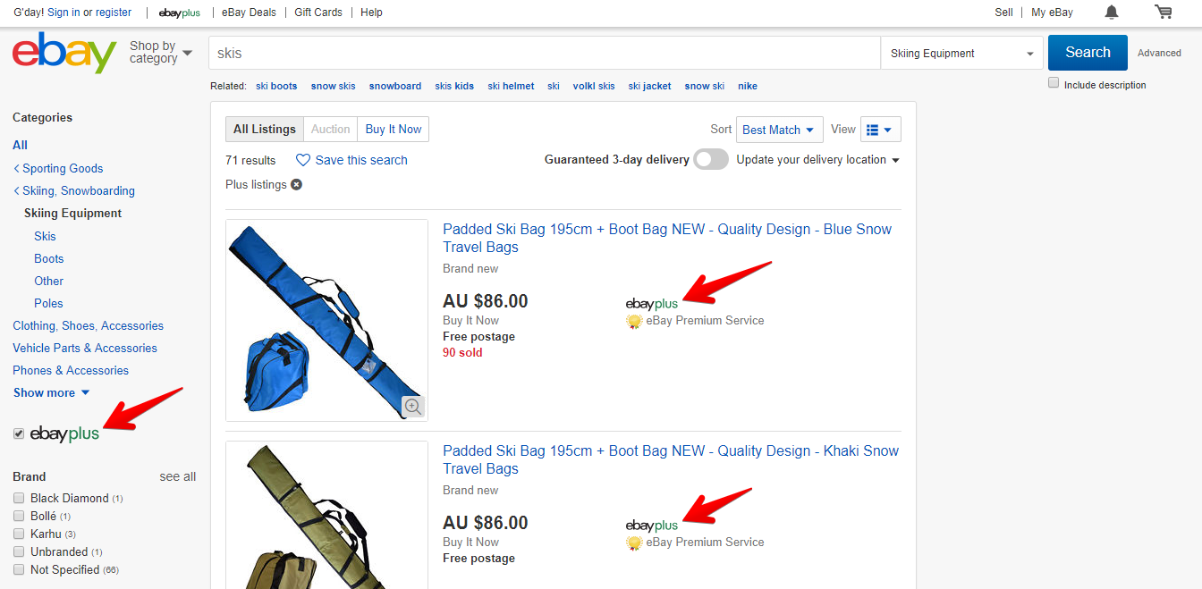 How To Qualify Listings For Ebay Plus In Australia