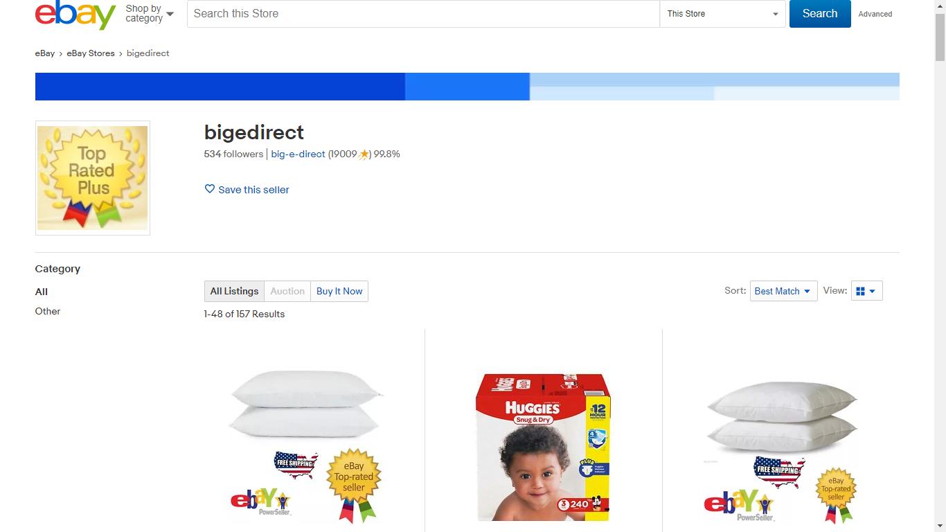 big-e-direct eBay Store