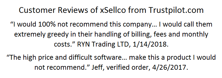 xSellco Reviews